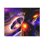 Relaxation Theory Abstract Stretched Canvas Prints