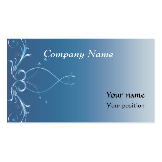 Relaxed Business Card