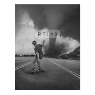 Relaxed Postcard