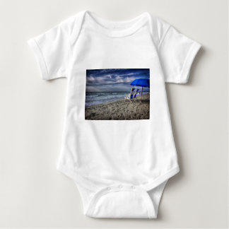 Relaxing at the Beach Baby Bodysuit