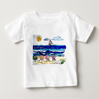 RELAXING AT THE BEACH BABY T-Shirt