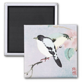 Relaxing Birds ~ Magnet Asian Japanese