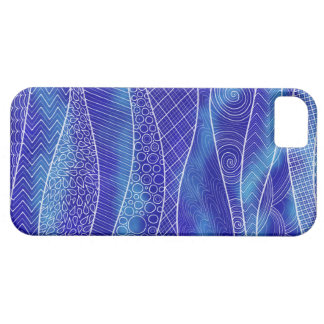 Relaxing Blue iPhone Case