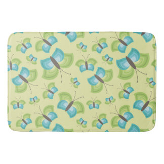 Relaxing Butterflies Bath Mat