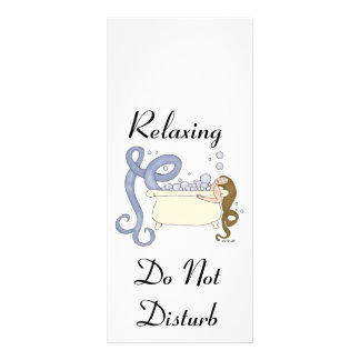 Relaxing Do Not Disturb ImagineMermaid.com Promo Rack Card