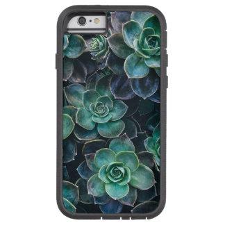 Relaxing Green Blue Succulent Cactus Plants Tough Xtreme iPhone 6 Case