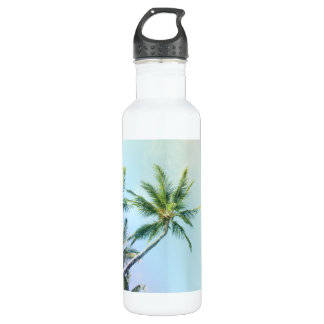 Relaxing Rainbow Color Palms 710 Ml Water Bottle