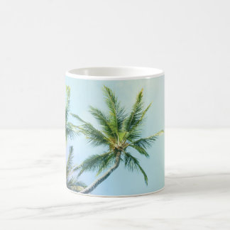 Relaxing Rainbow Color Palms Coffee Mug