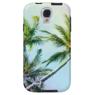 Relaxing Rainbow Color Palms Galaxy S4 Case