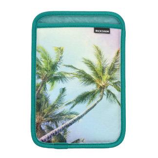 Relaxing Rainbow Color Palms iPad Mini Sleeve
