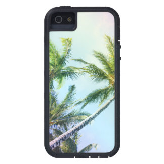 Relaxing Rainbow Color Palms iPhone 5 Case
