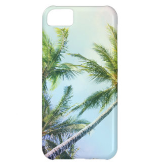 Relaxing Rainbow Color Palms iPhone 5C Case