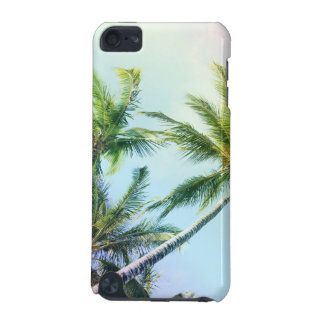 Relaxing Rainbow Color Palms iPod Touch 5G Covers