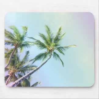 Relaxing Rainbow Color Palms Mouse Pad