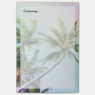 Relaxing Rainbow Color Palms Post-it® Notes