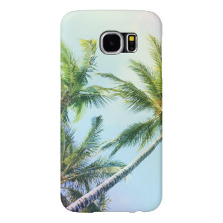 Relaxing Rainbow Color Palms Samsung Galaxy S6 Cases
