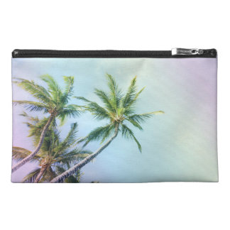 Relaxing Rainbow Color Palms Travel Accessory Bag