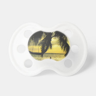 Relaxing Romantic Beach Scence Baby Pacifier