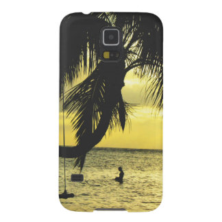 Relaxing Romantic Beach Scence Galaxy S5 Case