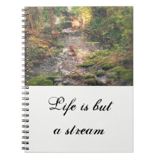 Relaxing Stream Notebook