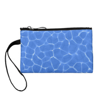 Relaxing Swimming Pool Ripples Change Purses