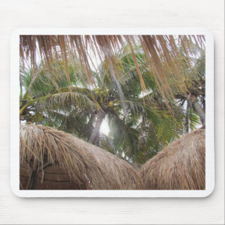 Relaxing under the Palm Trees Mouse Pad