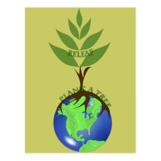 ReLeaf Plant A Tree Postcard