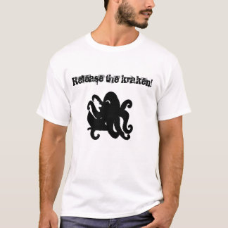 Release The Kraken Mens T-Shirt