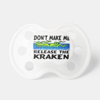 Release the Kraken pacifier