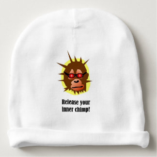 Release your inner chimp! baby beanie