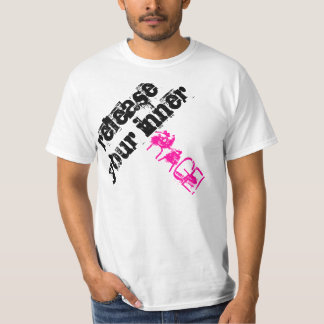 release your inner RAGE T-shirt