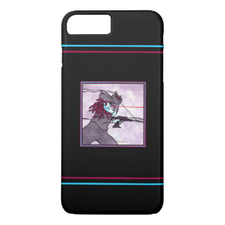"""Relentless Pursuit: Android 1"" Black Phone Case"