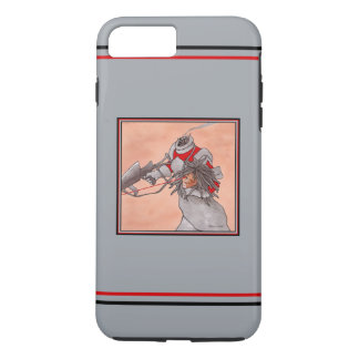 """Relentless Pursuit: Android 2"" Grey Phone Case"