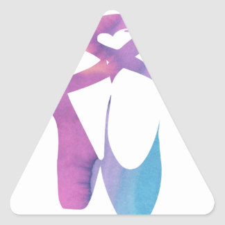 Releve 1 Slippers Triangle Sticker