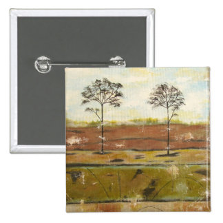 Relic Contemporary Modern Abstract Painting 15 Cm Square Badge
