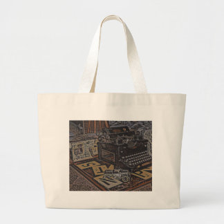 relics large tote bag