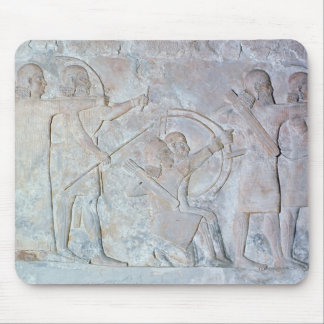 Relief depicting archers mouse pad