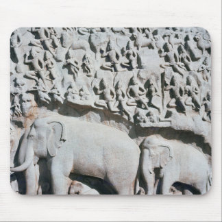 Relief depicting Arjuna's penance Mouse Pad