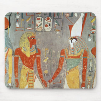 Relief depicting Horemheb  before Horus Mouse Pad