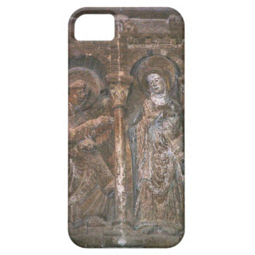 Relief from a capital depicting the Annunciation ( iPhone 5 Cases