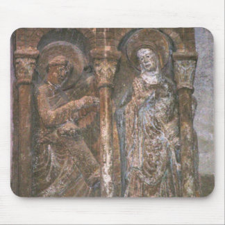 Relief from a capital depicting the Annunciation ( Mouse Pad