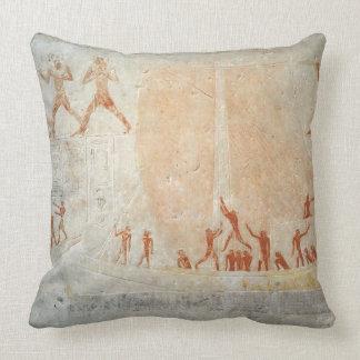 Relief from the Mastaba of Akhethotep depicting bo Cushion