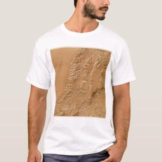 Relief map of Utah T-Shirt