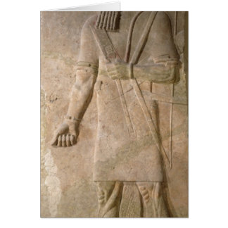 Relief of an Assyrian warrior Card