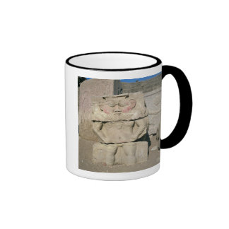 Relief of the Egyptian household god, Bes Coffee Mugs
