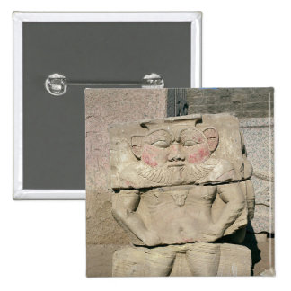 Relief of the Egyptian household god, Bes Pins