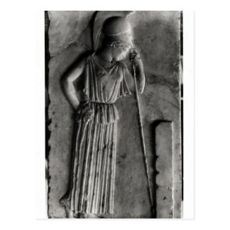 Relief of the Mourning Athena, c.460 Postcard