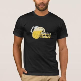 Relief Pitcher Beer Baseball T-Shirt
