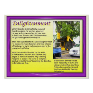 Religion, Buddhidm, the enlightened one Print