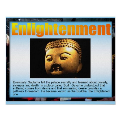 Religion,  Buddhism, Enlightenment Posters